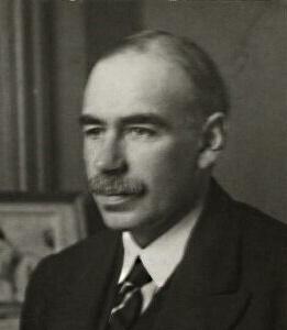 John Maynard Keynes portrait